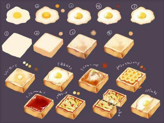 Https Vk Com Wall 120283272 1985 Z Photo 120283272 437993315 2fe9928f09d67ebaf1c8 Food Illustrations Cute Food Art Food Painting