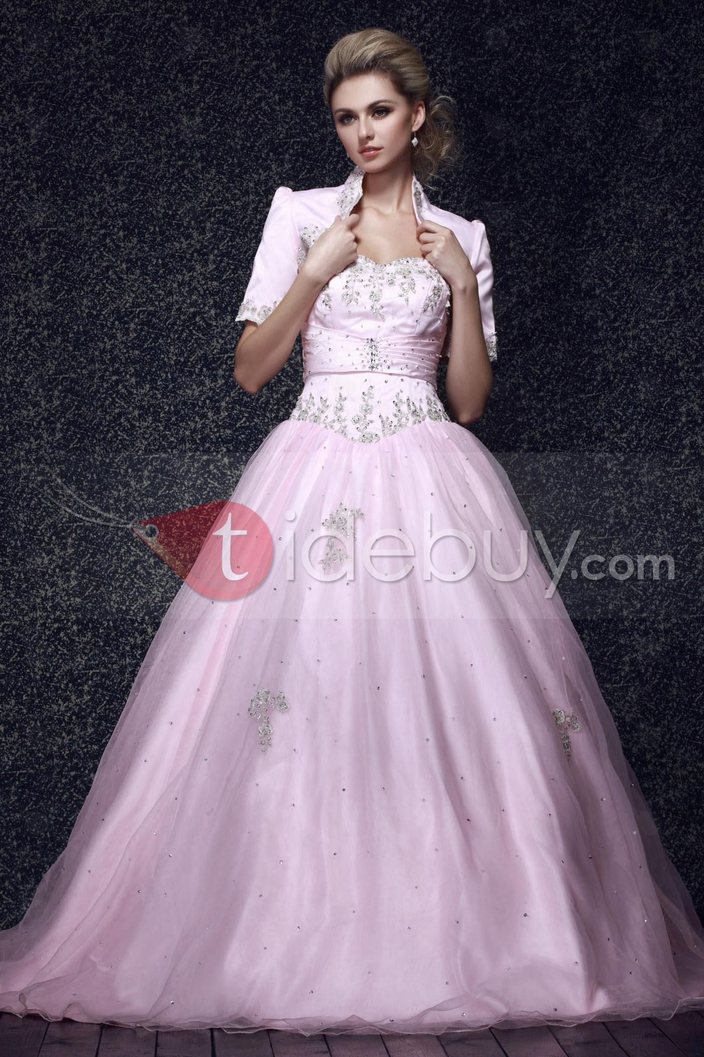 Ball Gown Sweetheart Floor-length Dasha\'s Ball Gown Quinceanera ...