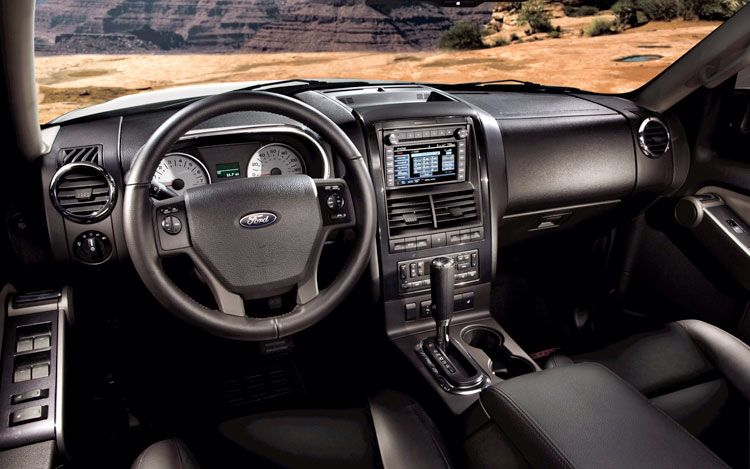 Ford Explorer Sport Trac Interior Ford Sport Trac Ford Explorer Sport Sport Trac