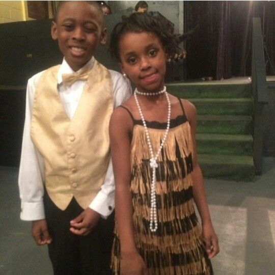harlem renaissance flower girl flapper and dapper usher