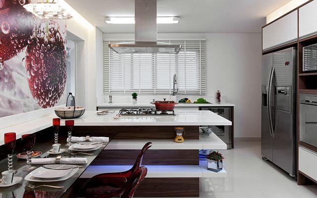 Cozinha Gourmet do Enólogo, por Érica Salgueiro, na Mostra de Decoração Central Park Prime by casacombr, via Flickr