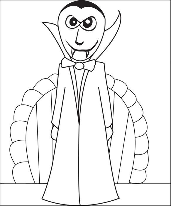 free printable vampire coloring page for kids print it and find other fun halloween coloring pages here