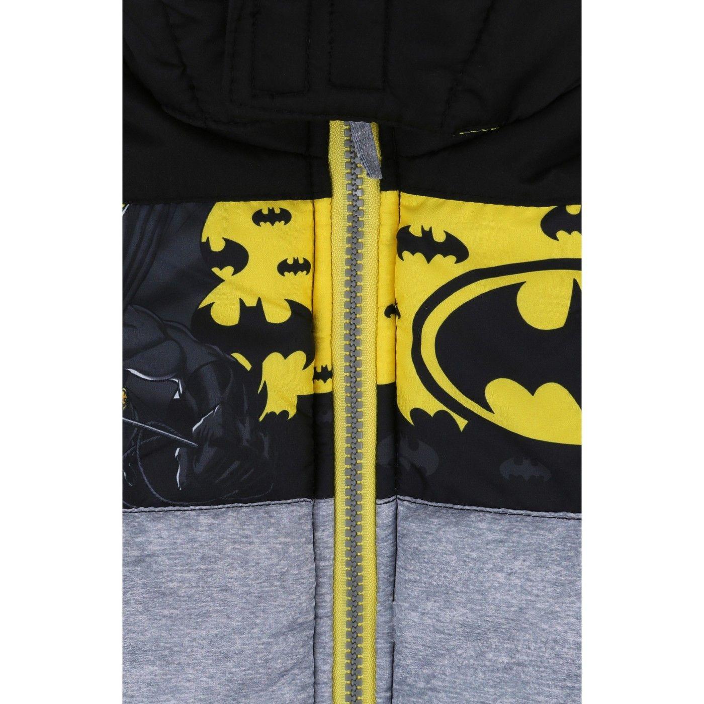 c6d9af3c9 Boys  Batman Puffer Jacket - Black 4  Batman