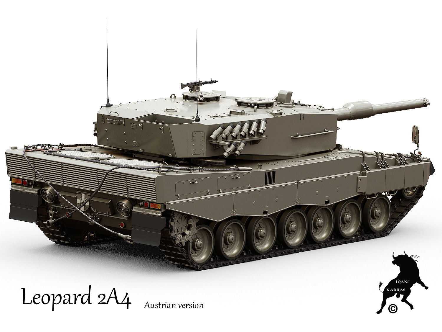 Czech army interested in acquiring Leopard 2A4 tanks in Spain 73