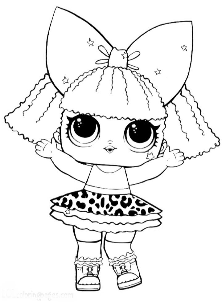 Pin By Ale Mg On Lol Lol Dolls Cool Coloring Pages Coloring Sheets