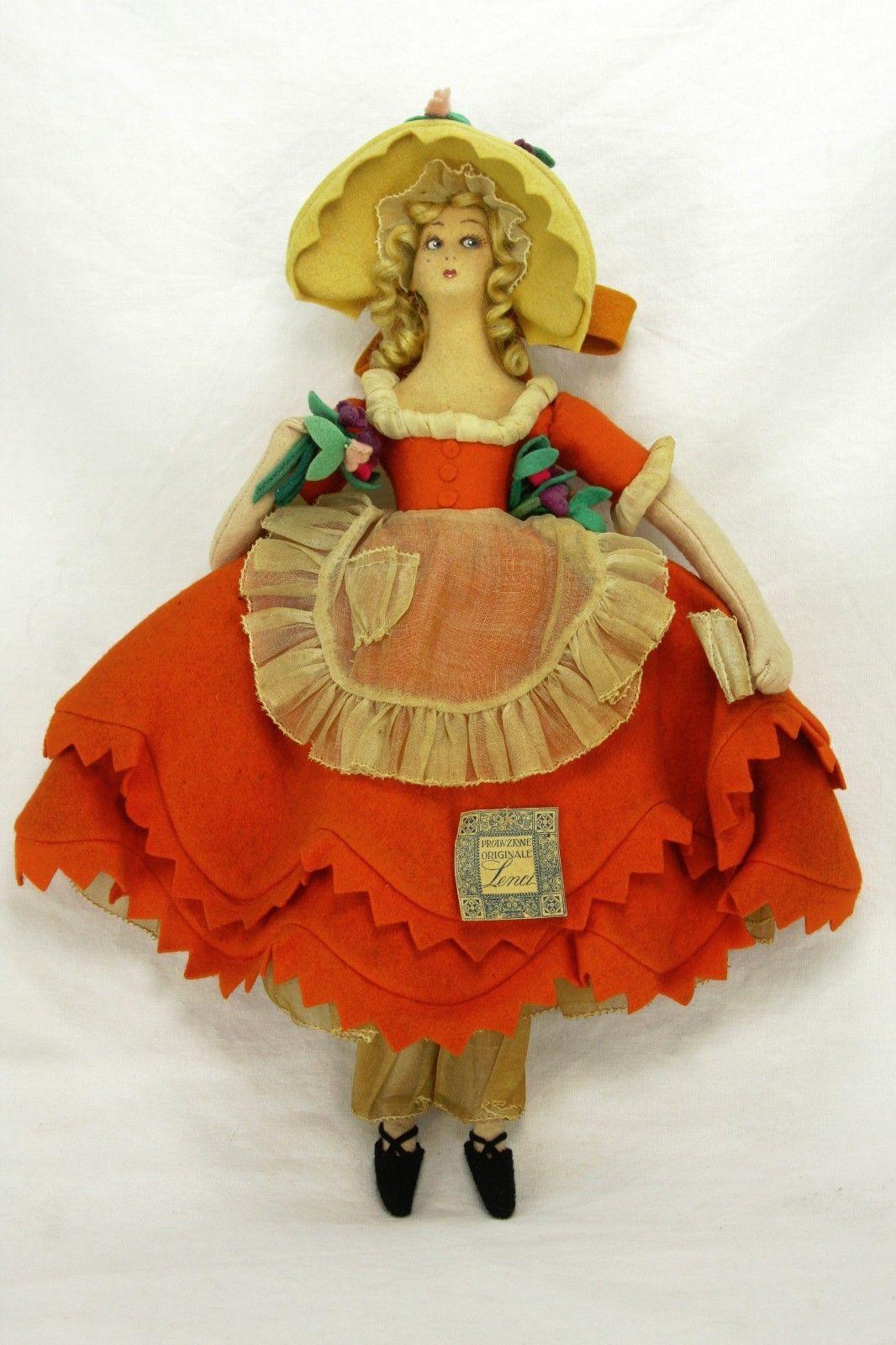 Antique Vintgae Rare Miniature Lenci Boudoir Doll Ca1920 Boudoir Dolls Antique Dolls Dolls