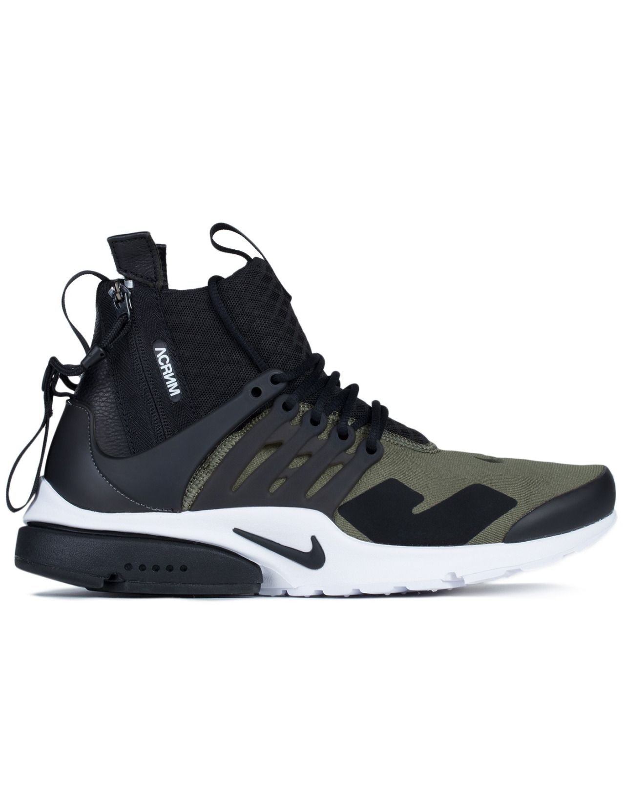 ACRONYM x Nike Air Presto Mid  Olive  (via HBX) Roshe Shoes 7e2701e434
