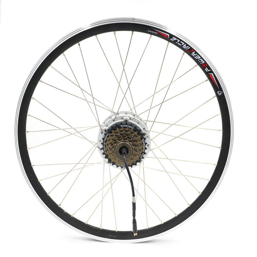 Electric Bike Wheel Motor Hub Motor With 6 7 Speed Cassette Lcd