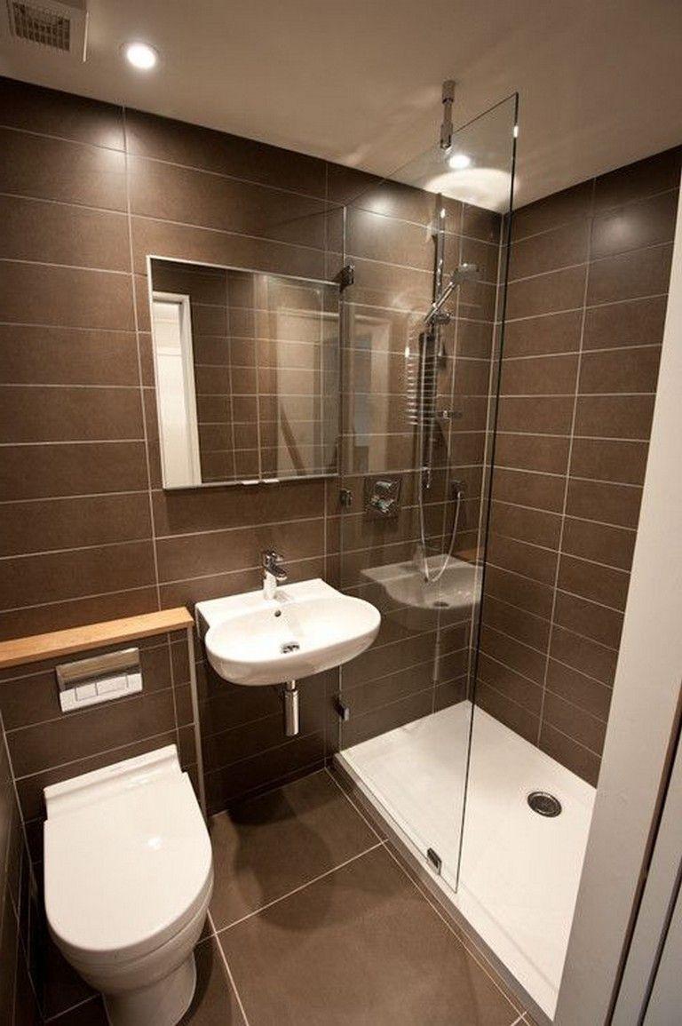 45 Good Small Bathroom Design Examples Beautiful Small Bathrooms Small Bathroom Remodel Modern Bathroom Design Simple interior bathroom design