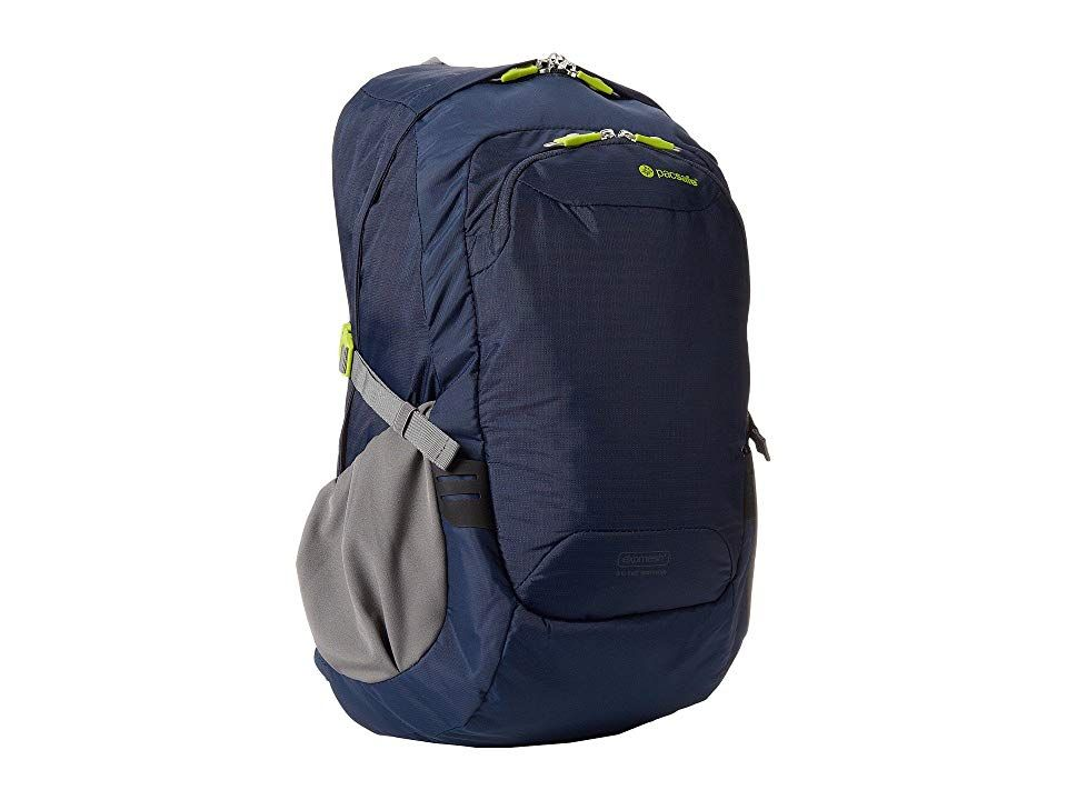 ad06139eb Pacsafe Venturesafe 25L GII Anti-Theft Travel Pack (Navy Blue) Backpack  Bags.