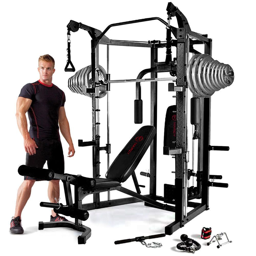 Home fitness equipment multi gym bench workout training