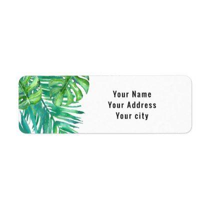 green address labels