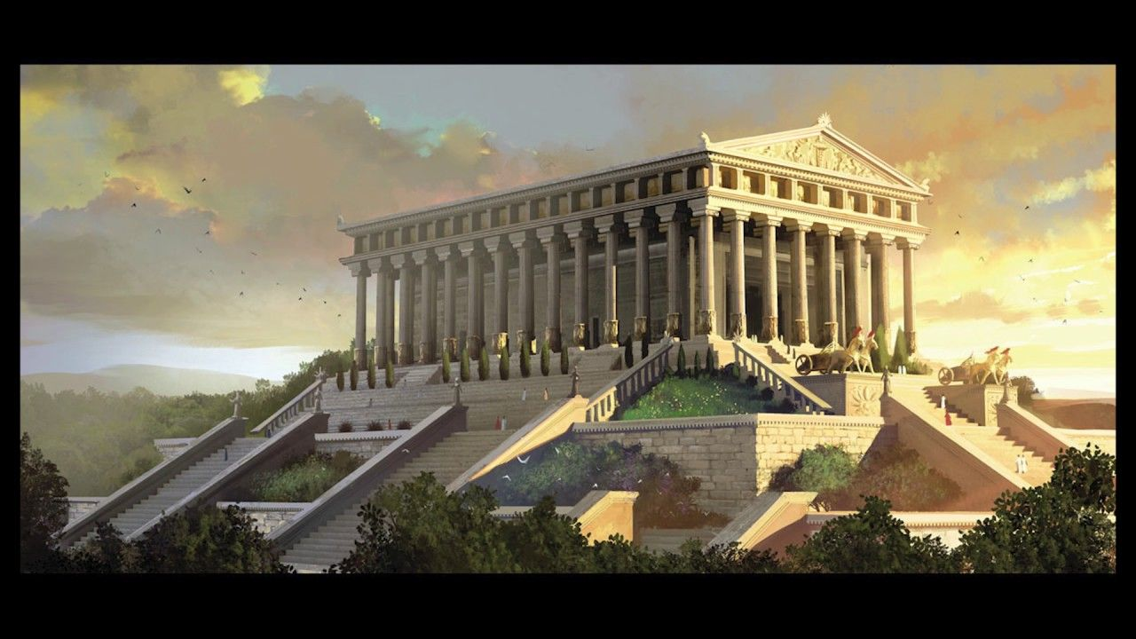 Image Result For Fantasy Greek City With Images Ancient Greek