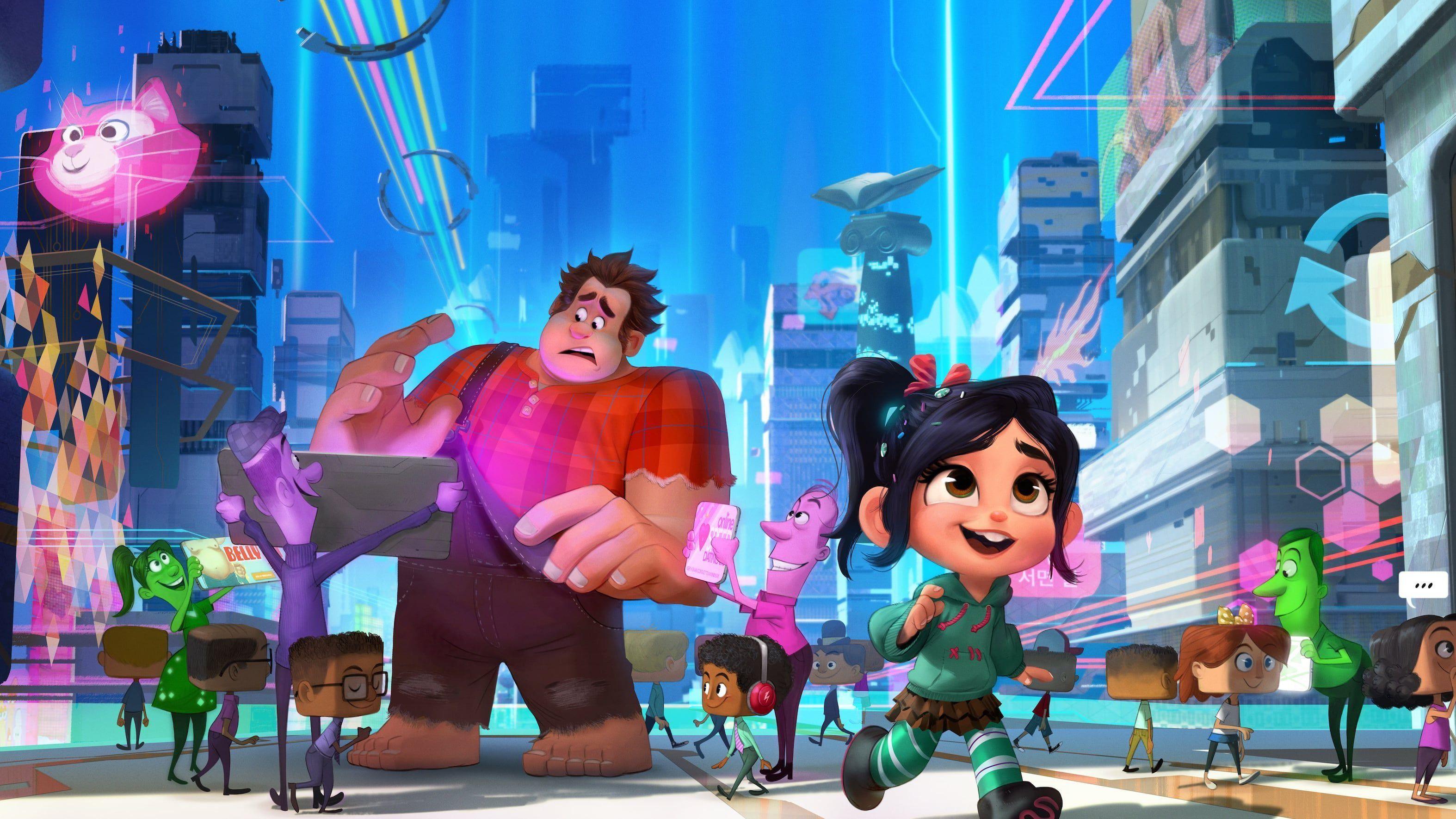 Nach Einem Unglucklichen Unfall Sturzen Sich Ralph Und Seine Quirlige Freundin Vanellope In 2021 Free Movies Online Walt Disney Pictures Walt Disney Animation Studios
