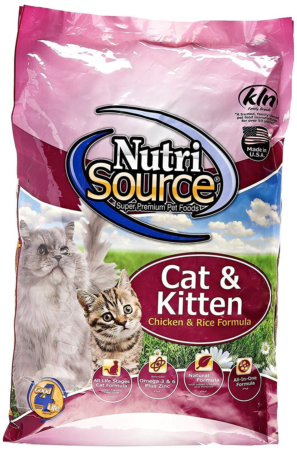 Chicken And Rice Cat Kitten Food Size 6 6 Lb Bag You Can Get More Details Here Cat Food Kitten Food Dry Cat Food Cat Food Allergy