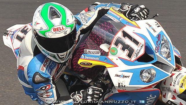 Vittorio Iannuzzo - Team Grillini Dentalmatic SBK - BMW S1000 RR - Superbike 2013 - Germania Nurburgring