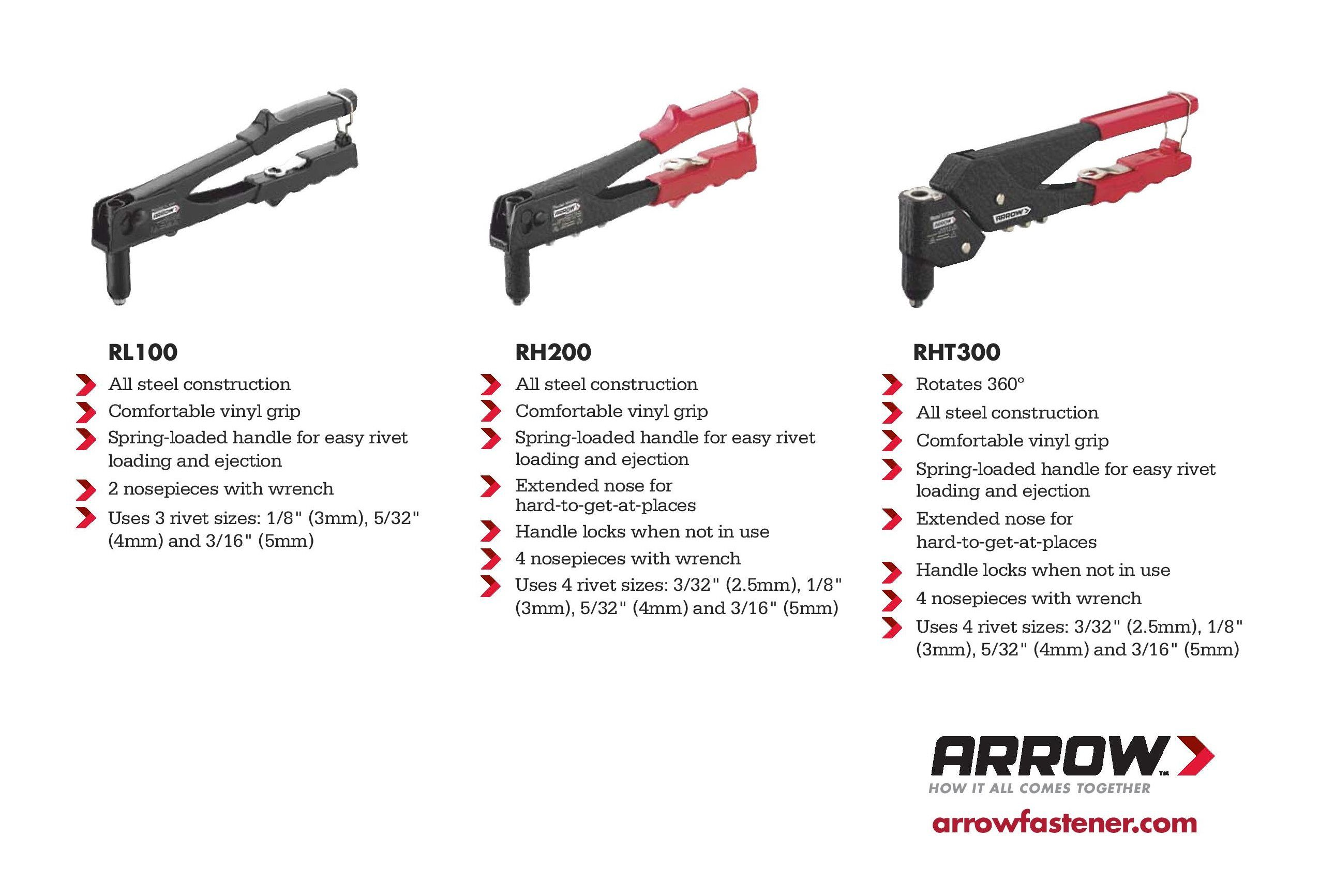 Which Of Our Rivet Tools Is Right For Your Diy Projects You Can Use A Rivet Tool To Fix Mailboxes Utensils Purses And More W Rivet Guns Metal Mailbox Tools