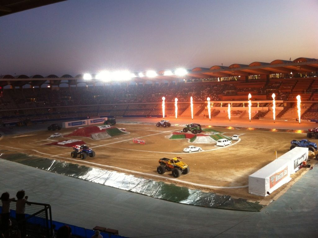 Monster trucks in the UAE - Welcome Monster Jam