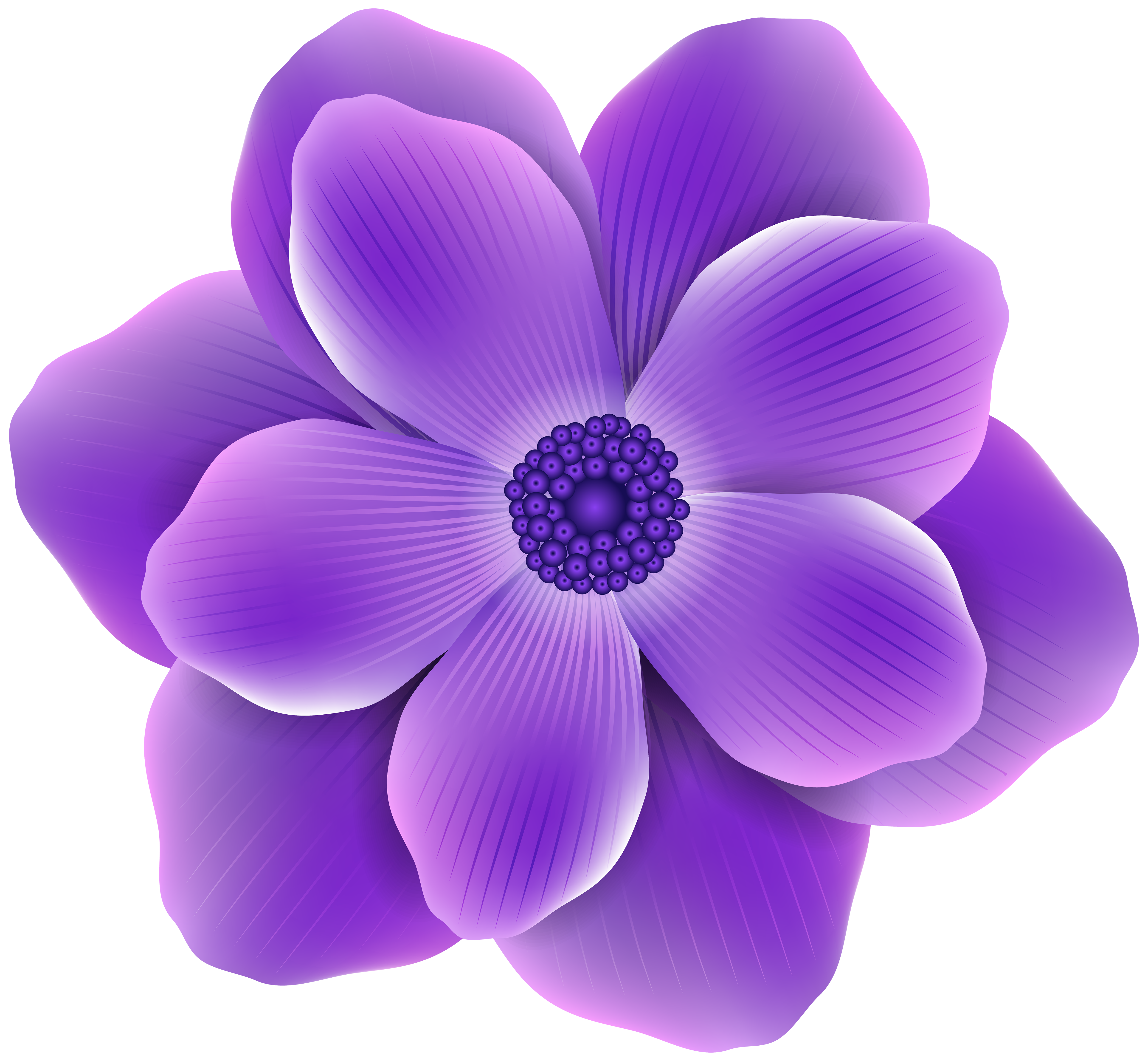 Purple Flower PNG Clip Art Image Gallery Yopriceville