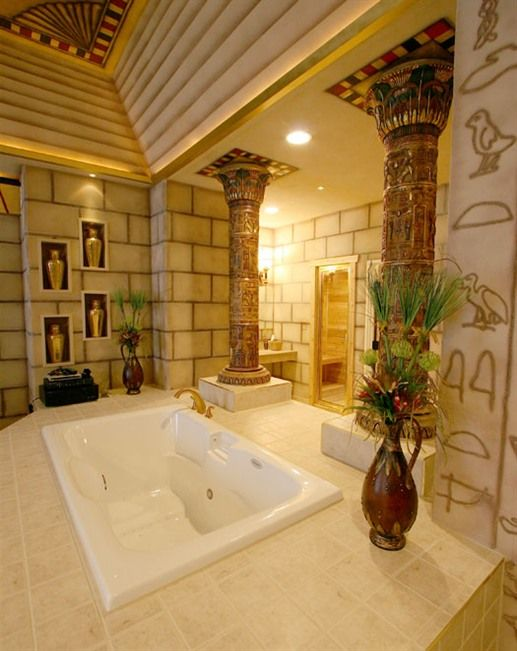 Destinations Inn In Idaho Has An Egyptian Room Complete With