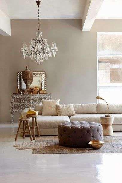 Arredare il soggiorno con il color tortora - Pareti soggiorno color ...