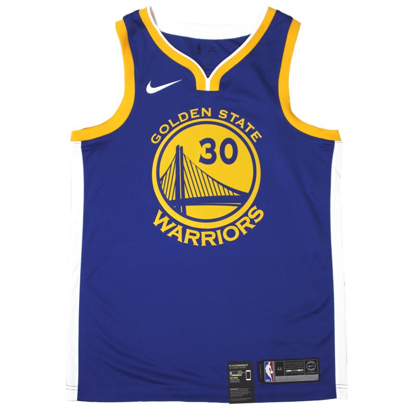 new concept c18a8 6cff3 Nike Icon Swingman NBA Jersey - Golden State Warriors ...
