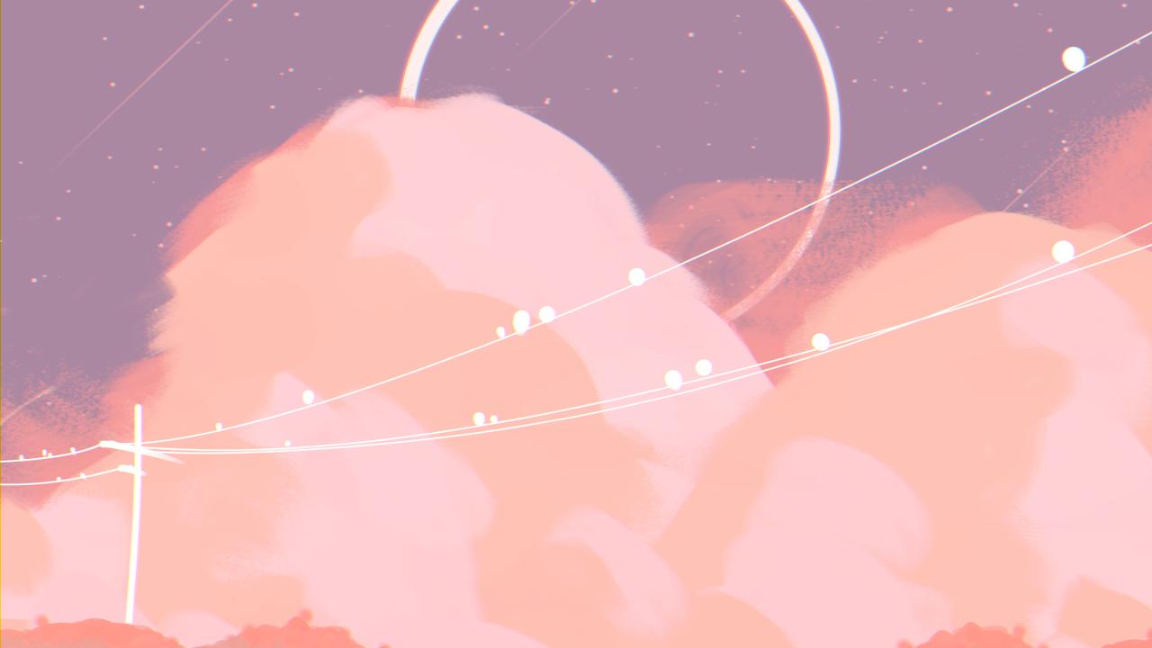 Godeonn Twitter Ar In 2020 Aesthetic Desktop Wallpaper Anime Scenery Wallpaper Pastel Background Wallpapers