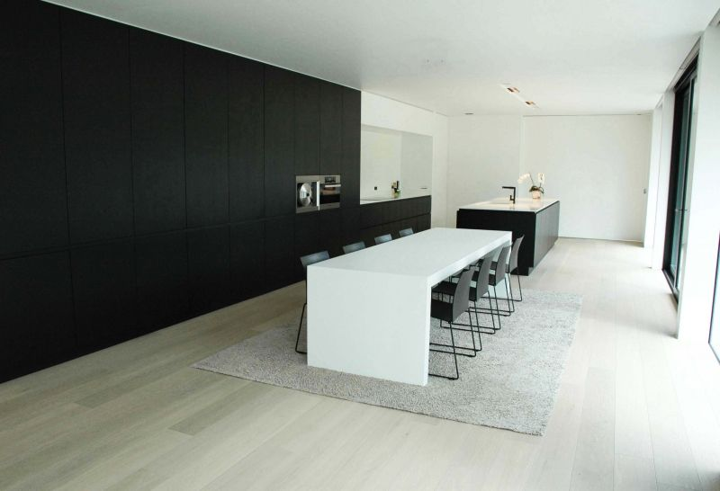 interieur moderne villa oeselgem interior pinterest villas van and modern On interieur moderne