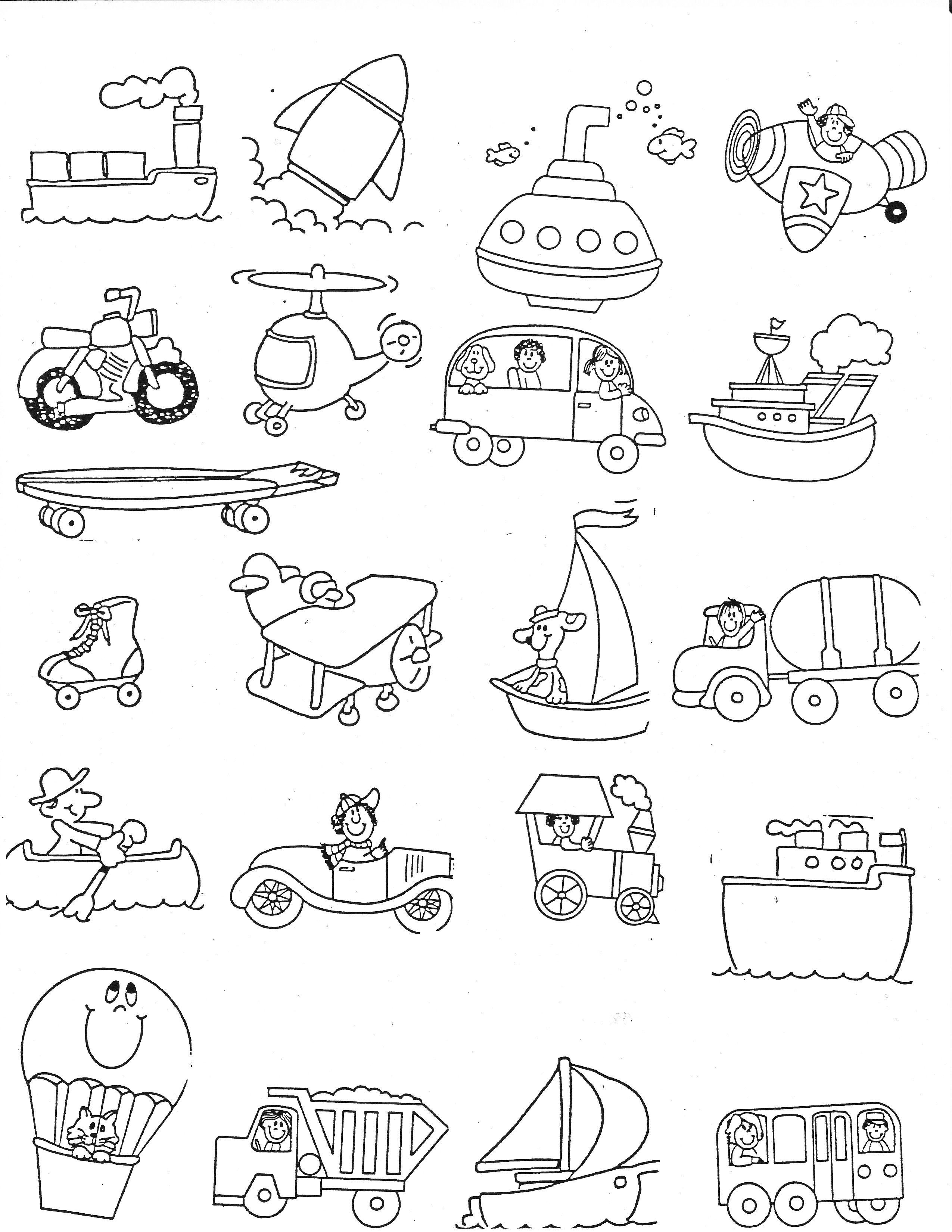 cards 1000 images about unit on pinterest 263 esl means of transport