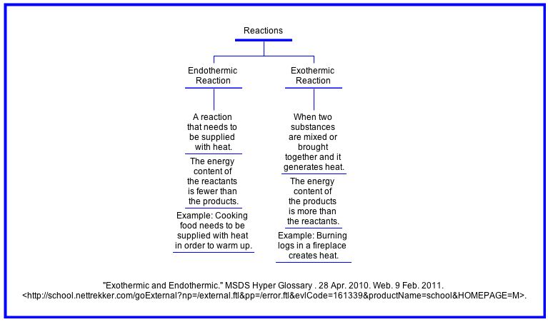 Endothermic Vs Exothermic Reactions Worksheet Template Printable Worksheets Educational Worksheets
