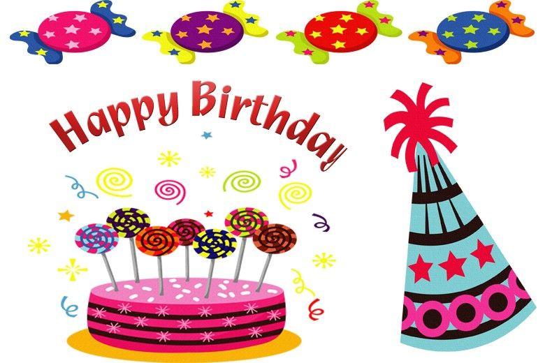Happy+Birthday+Clip+Art Happy Birthday Clip Art Carte