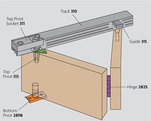 Henderson Bi Fold Sliding Folding Door Kit Folding Doors Single Door Design Sliding Barn Door Hardware