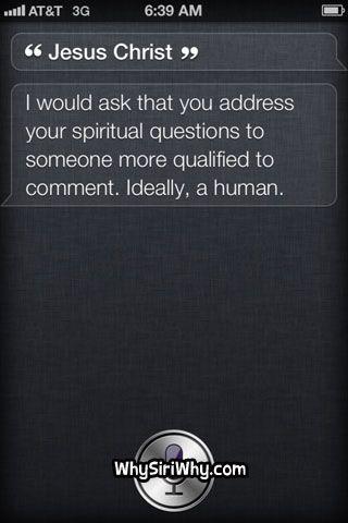 Siri is not bright.