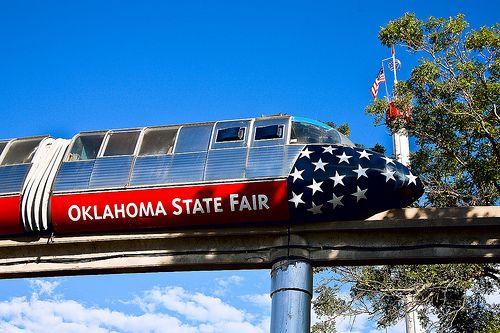 State Fair Monorail Oklahoma Oklahoma History State Fair