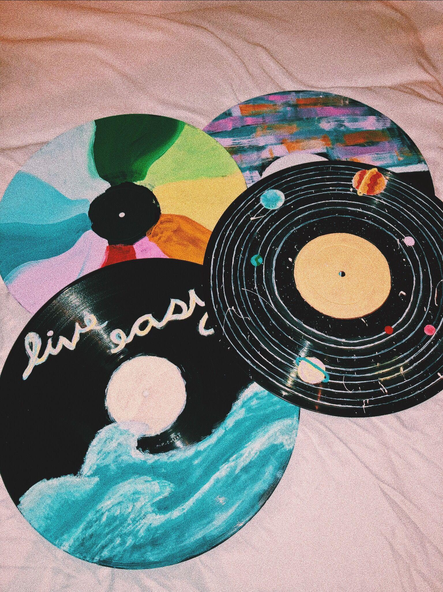 Pin By Audrey Osborne On Painting Vinyl Record Art Vinyl Art