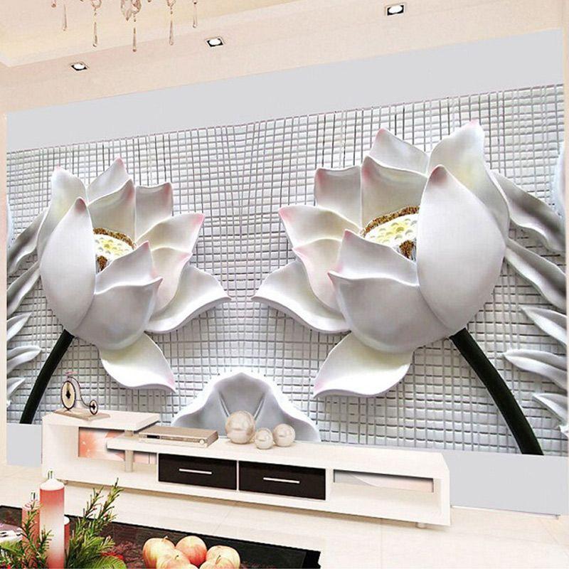 benutzerdefinierte jeder größe 3d wandbild tapete moderne mode, Wohnzimmer