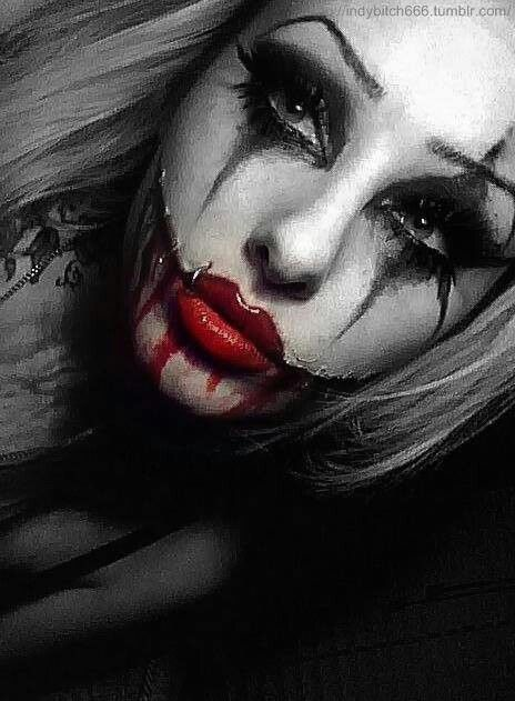 Red Lips Halloween Makeup Joker Makeup Special Effects Makeup