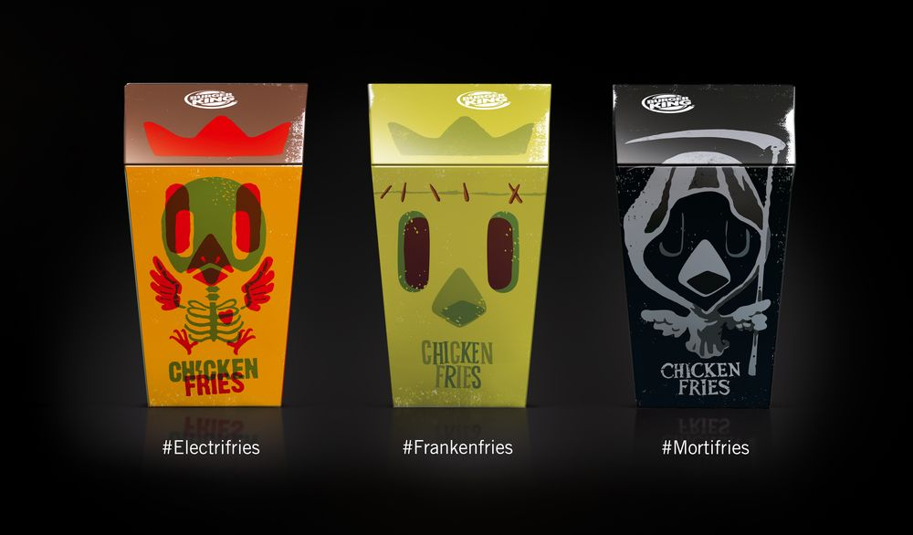 Burger King Halloween Packaging — The Dieline - Branding & Packaging