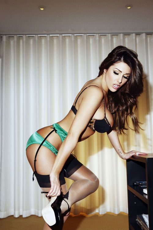 3a5dfb5f23abd like a baws Green Lingerie