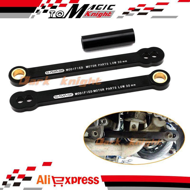 2X Rear Adjustable Lowering Suspension Links Kit For Honda CBR1000RR 2004-2007