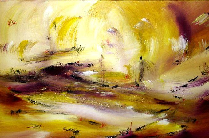 Artwork >> Muriel Cayet >> Sand of gold