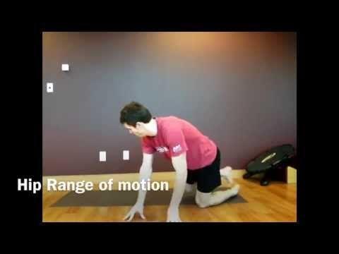 Hip range of motion Exercises