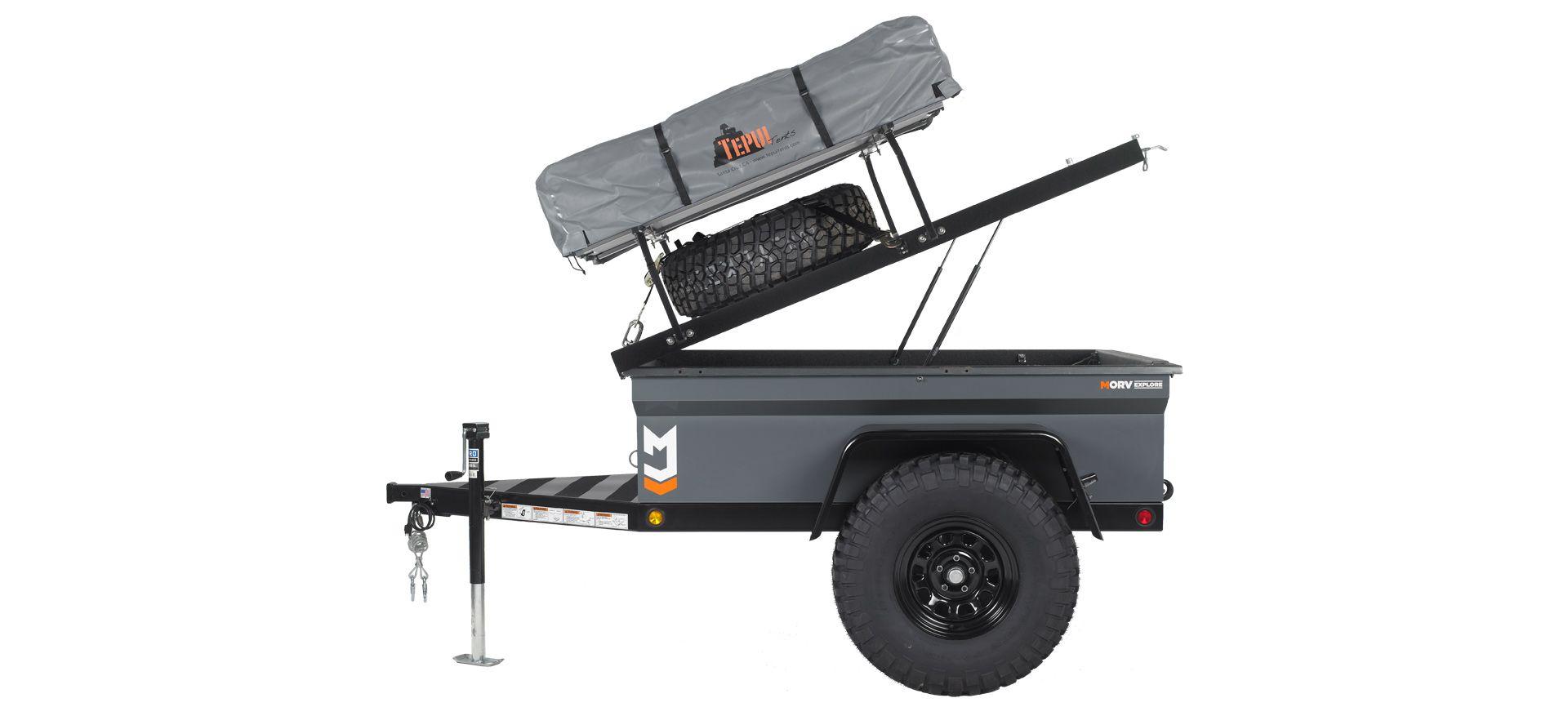 MORV Explore Manley ORV Company Trailer, Camping trailer