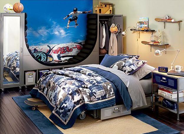22 Teenage Bedroom Designs Modern Ideas For Cool Boys Room Decor Boy Design Bedrooms