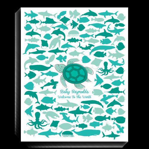 Sea Turtle Guest Book Alternative