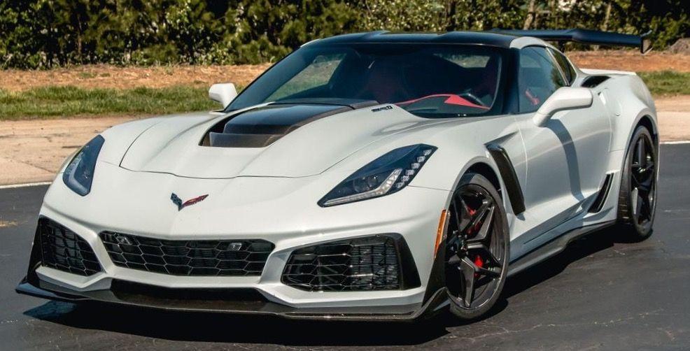 2019 Chevrolet Corvette Zr 1 Corvette Chevrolet Corvette Chevrolet