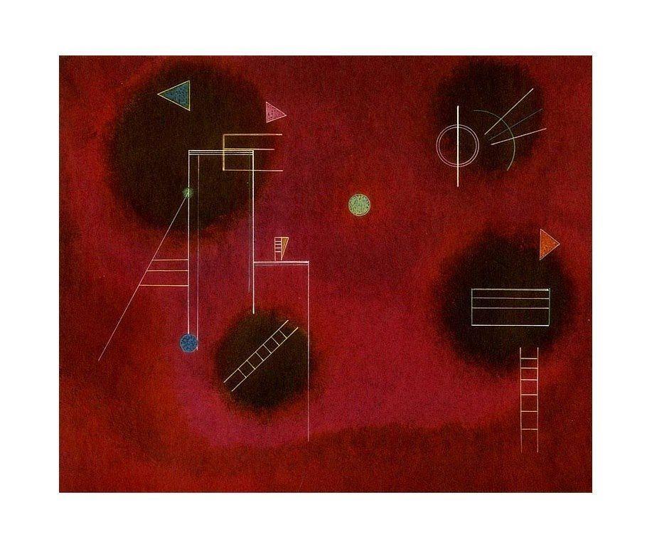Wassily Kandinsky Vier Flecken (Four Splashes), 1929