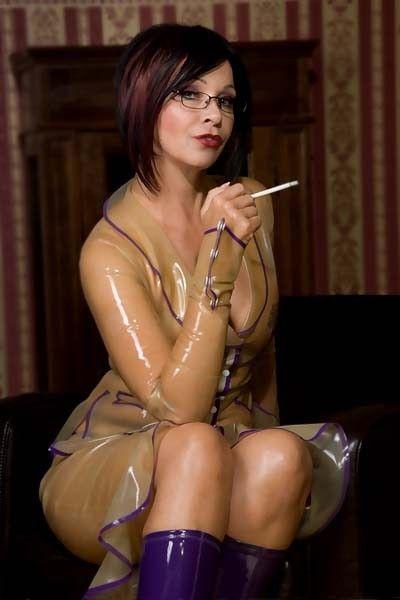Zrelo kajenje fetiš boginja Nič ne more biti več-1746