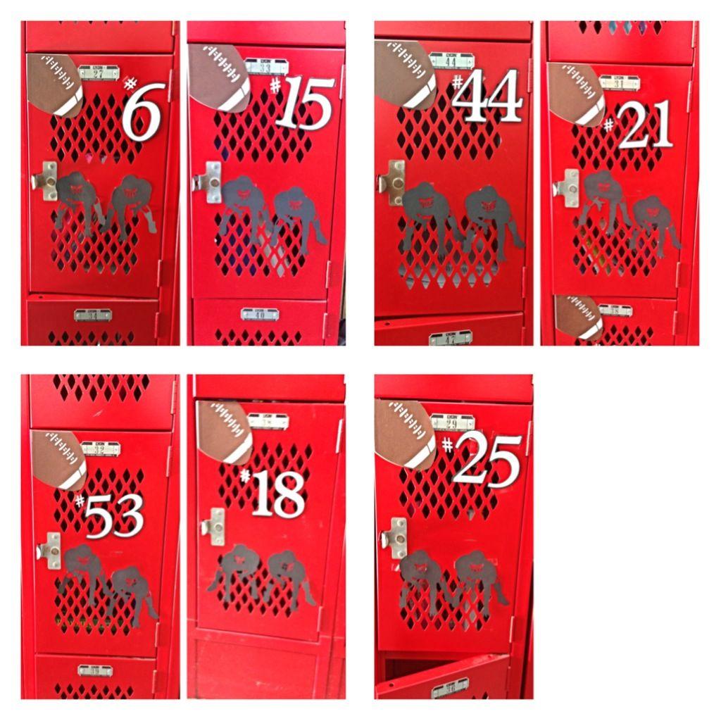Locker decorations high school - High School Locker Decoration Making Jakes Senior Year As Memorable As Possible