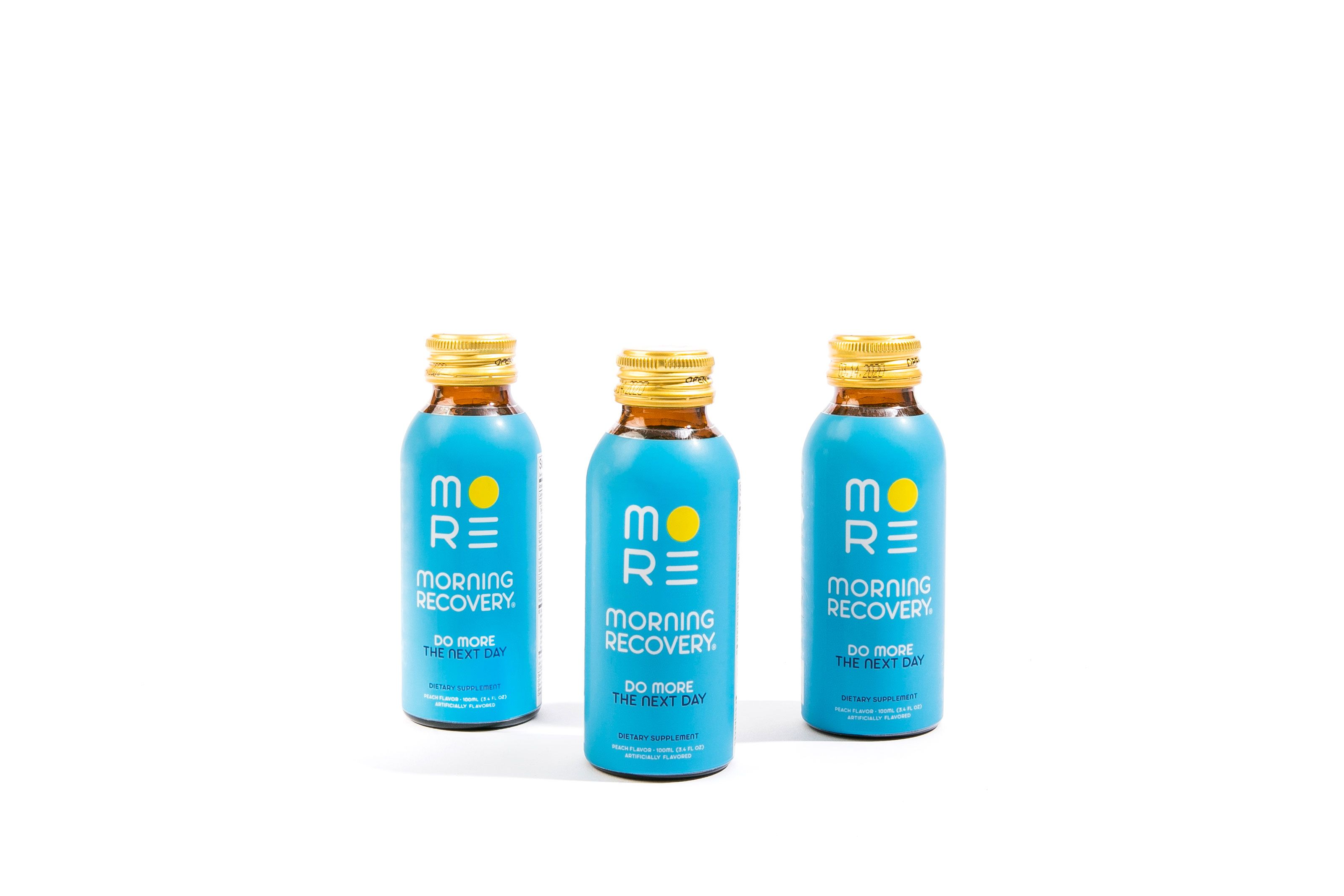 Morning Recovery trio. Recovery drink, Drinks, Negative